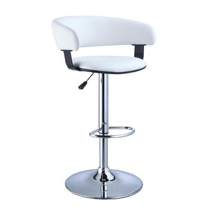 Adjustable Height Swivel Bar Stool by Powell Furniture