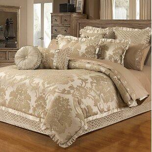 Waut Blossom 6 Piece Lux Jacquard Comforter Set by Astoria Grand