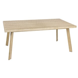 Reynolds Plastic/Resin Dining Table by Woodard