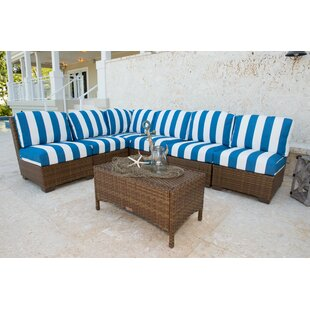 7 Piece Sectional Set with Cushions