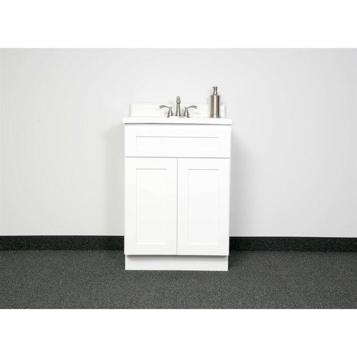 24 Bathroom Vanity Base Only