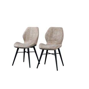 Duke Upholstered Dining Chair (Set Of 2) By Ebern Designs