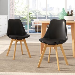 Amira Upholstered Dining Chair (Set of 2) by Corrigan Studio SKU:DC705371 Reviews