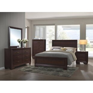 Millwood Pines Angus 6 Drawer Double Dresser with Mirror