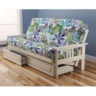 Latitude Run Ronning Rustic Futon and Mattress