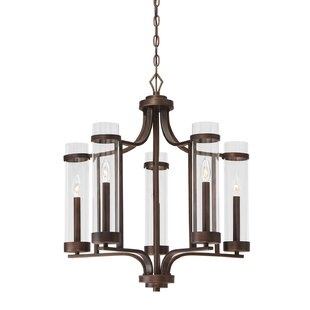 Breakwater Bay Iris 5-Light Shaded Chandelier