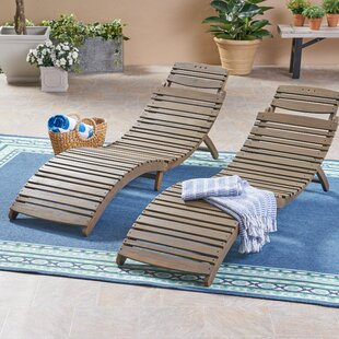 Naveen Reclining Chaise Lounge (Set of 2)