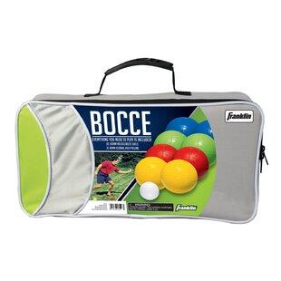 Franklin Sports Intermediate 8 Piece Bocce Ball Set