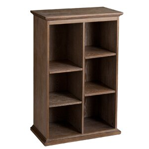 Tillson Burnt Oak Display Cube Unit Bookcase