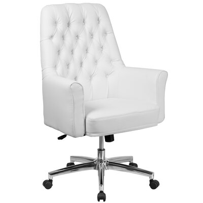 Broadwell Village Task Chair Upholstery Color: White by Alcott Hill