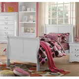 Redondo Sleigh King Platform Configurable Bedroom Set by Red Barrel Studio