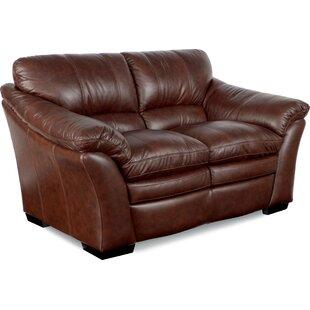 Burton Leather Loveseat