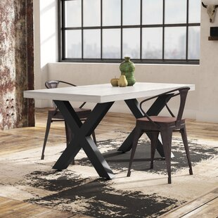 Bodil Concrete Rectangular Dining Table