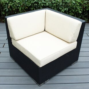 Wade Logan Baril Corner Chair with Cushions