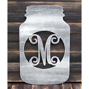 Ampersand Wall Decor monogram letter wall decor | wayfair