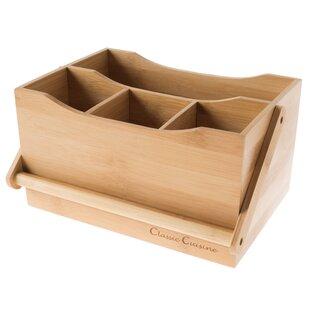 Bamboo Flatware Caddy