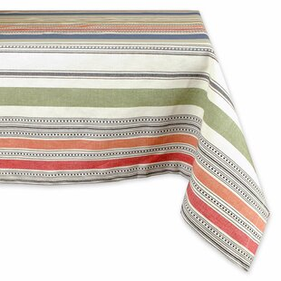 Warm Stripe Tablecloth
