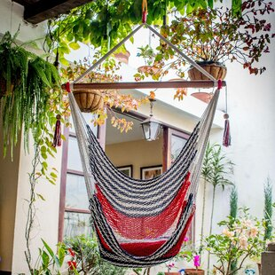 Ryedale Celebration and Relaxation Cotton Rope Camping Hammock by Bloomsbury Market