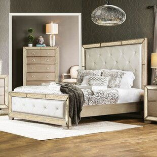 Susann Upholstered Panel Bed by House of Hampton Top Reviews