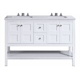 Oppelo 60 Double Bathroom Vanity by Ivy Bronx