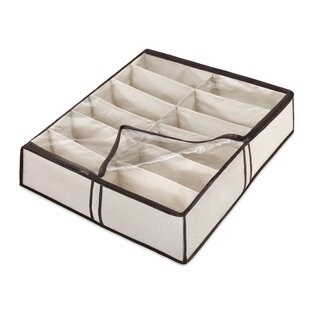 Best Reviews Fabric Underbed Shoe Storage By Whitmor, Inc