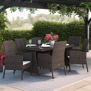 6 Sitzer Gartengarnitur Gran Canaria Mit Polster