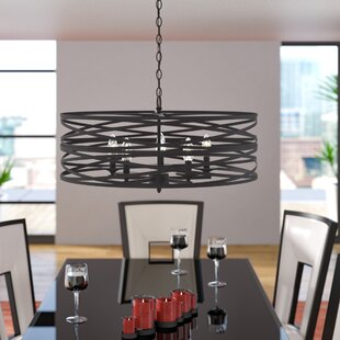 Brayden Studio Bazemore 5-Light Drum Pendant