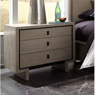 Keiper 3 Drawer Nightstand