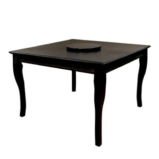Aya Counter Height Solid Wood Dining Table by Alcott Hill