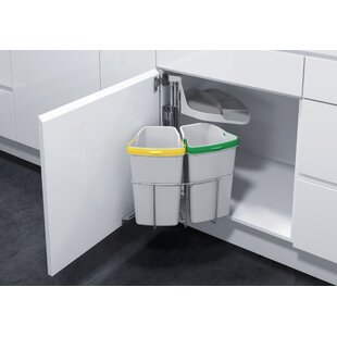 Vauth-Sagel Oeko Pull Out Trash Can (Set of 2)