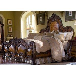 chateau beauvais panel bed - Michael Amini Furniture