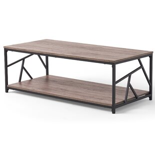 Feaster Coffee Table with Tray Top by Brayden Studio