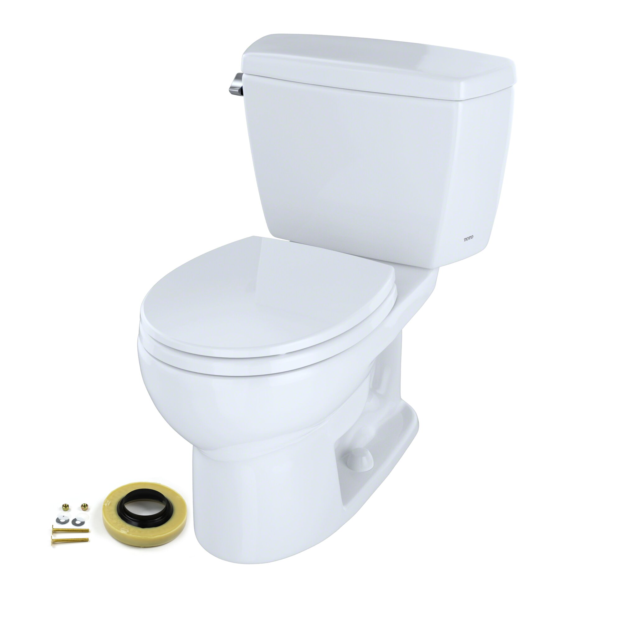 Groovy Drake Dual Flush Round Two Piece Toilet With Bidet Seat Wax Ring And Toilet Mounting Bolts Pdpeps Interior Chair Design Pdpepsorg