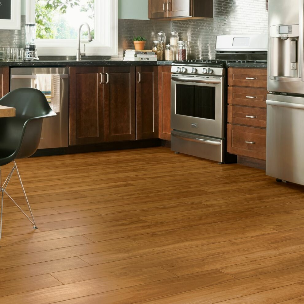 Armstrong Flooring Luxe Rigid Core Tropical 6 X 48 X 7 9mm Oak