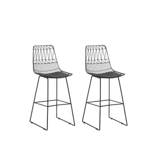 Crestline 76cm Bar Stool (Set Of 2) By Bay Isle Home