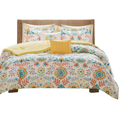 Hogansville Comforter Set Bungalow Rose