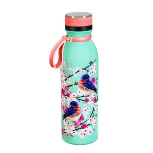 Cripple Creek Birds and Blossoms 20 oz. Stainless Steel Water Bottle