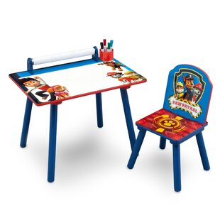 Paw Patrol Children's Activity Desk and Chair by Paw Patrol