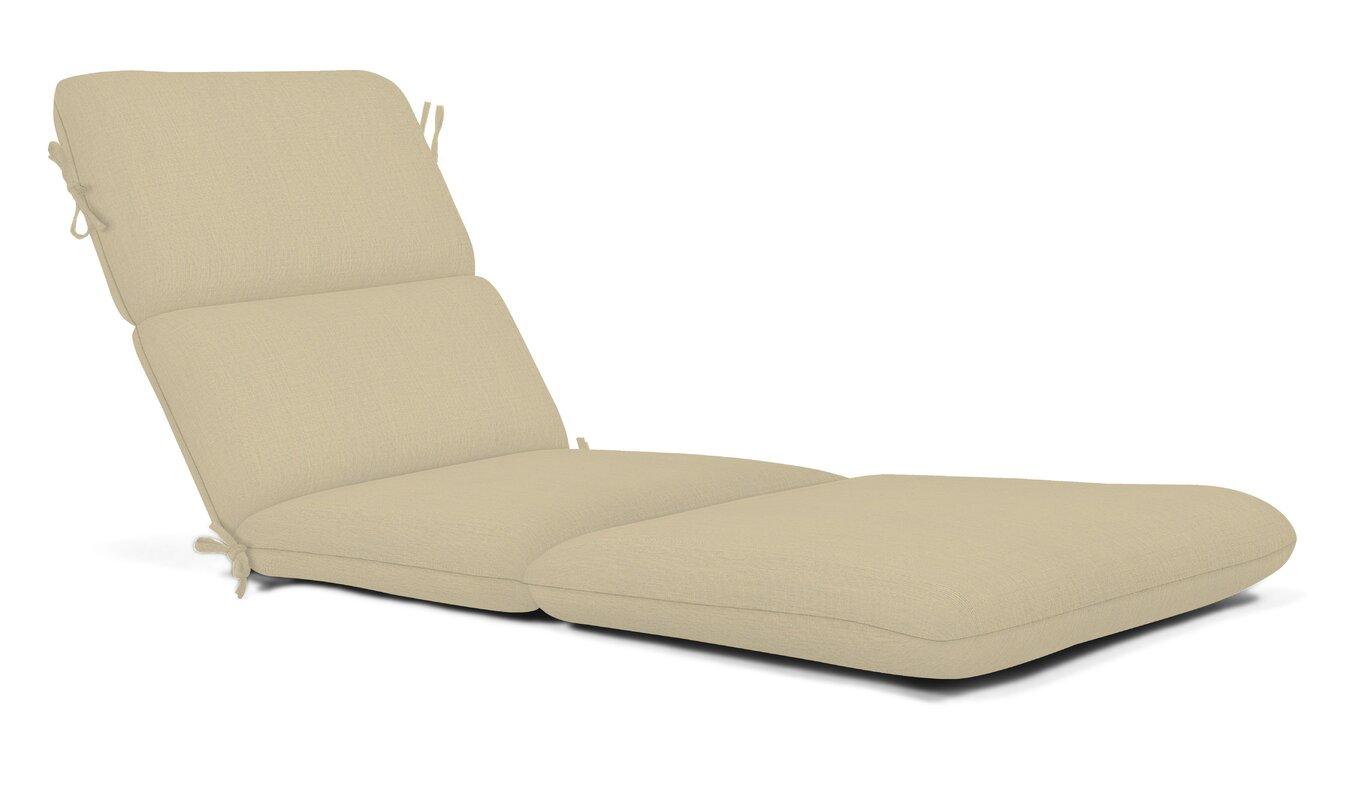 Outdoor Sunbrella Chaise Lounge Cushion  sc 1 st  Wayfair.com : chaise lounge cushions sunbrella - Sectionals, Sofas & Couches