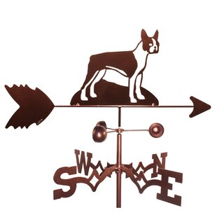 Boston Terrier Dog Weathervane By SWEN Products