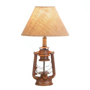 Reviews Grant Vintage Camping Lantern 19.5 Lamp By Loon Peak
