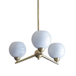 Eveleth 3-Light Sputnik Chandelier