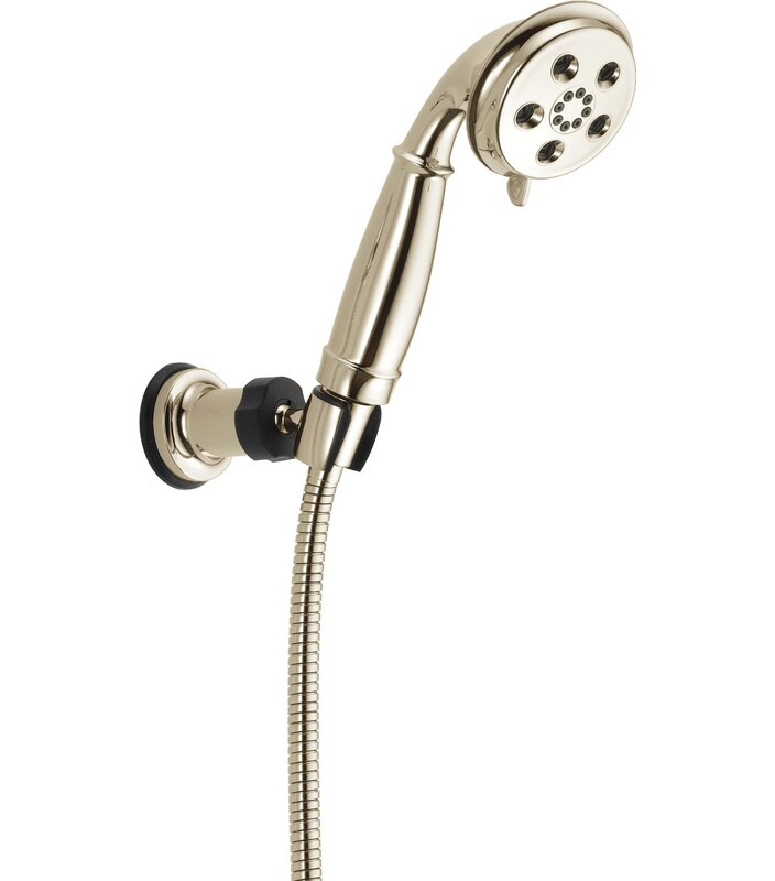 55433 Ss Rb Cz Delta Universal Showering Components Massage Jet Handheld Shower Head With H2okinetic Technology Reviews Wayfair