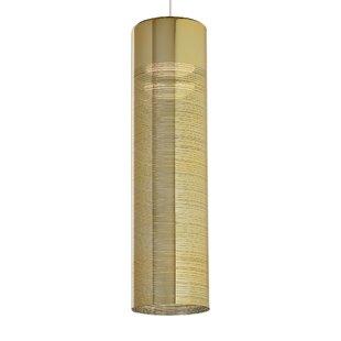 Everly Quinn Lapine 1-Light Cylinder Pendant