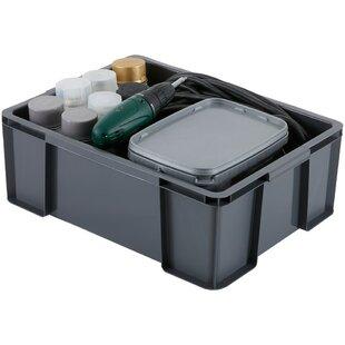 27 L Plastic Storage Box (Set Of 3) By Rebrilliant