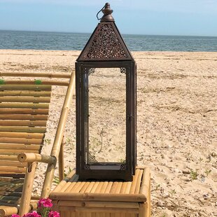 Inexpensive Metal Lantern By World Menagerie