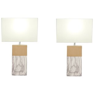 Rectangular 25 Table Lamp (Set of 2)