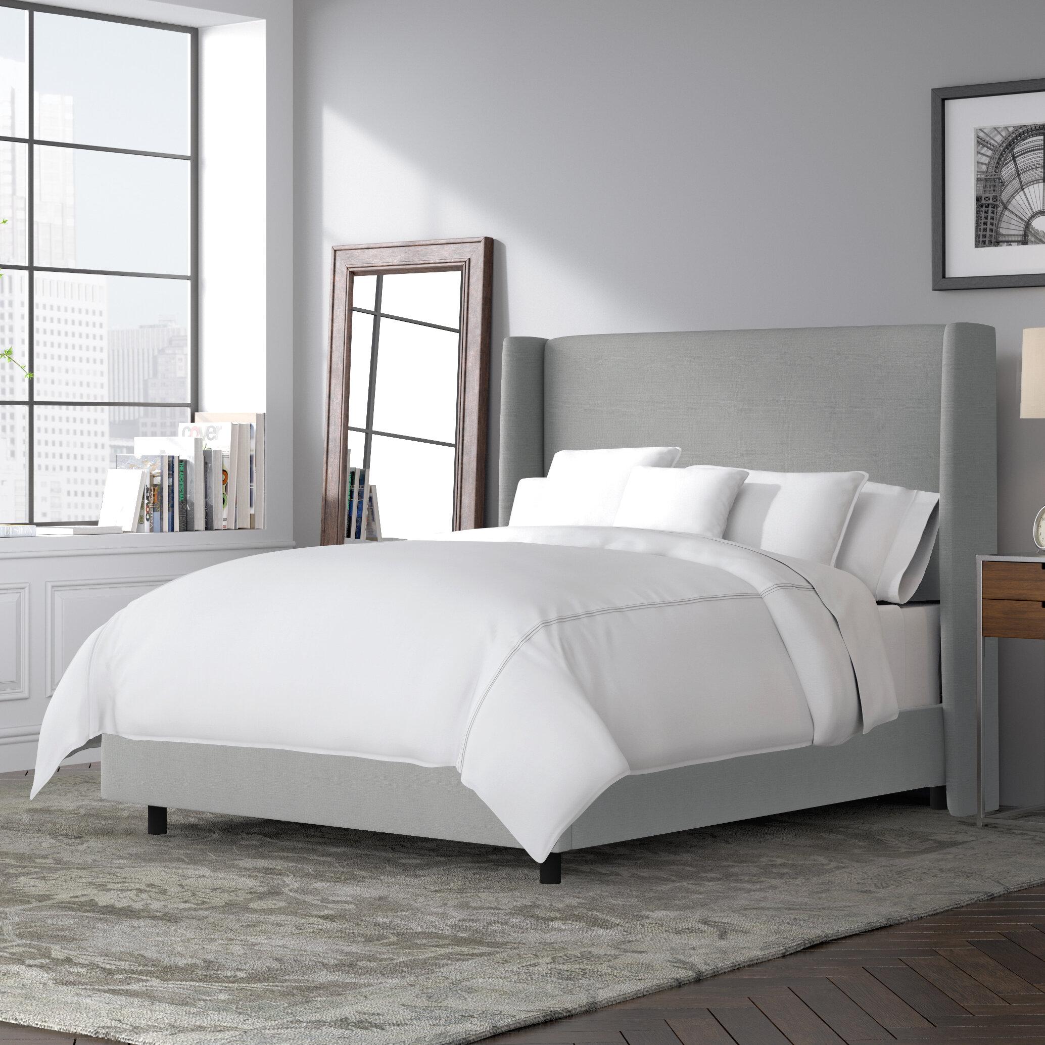 Joss Main Alrai Upholstered Low Profile Standard Bed Reviews Wayfair