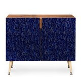 Blue Silk Accent Cabinet by East Urban Home