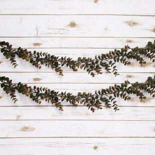 Faux Eucalyptus Garland Wayfair